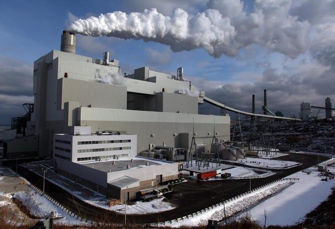 The WE Energies power plant in Oak Creek.