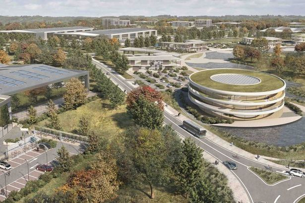 """Gravity, a planned huge smart campus near Bridgwater, is one of the sites """"trying to secure the enormous letting"""", according to an article in PropertyWeek"""