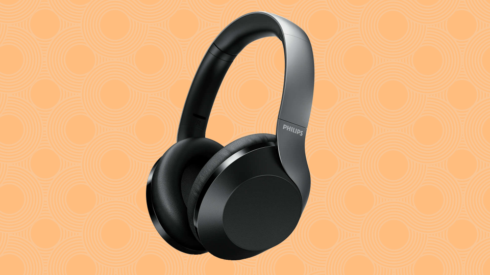 Save $100 on these Philips Wireless Over-Ear Noise Canceling Headphones. (Photo: Walmart)