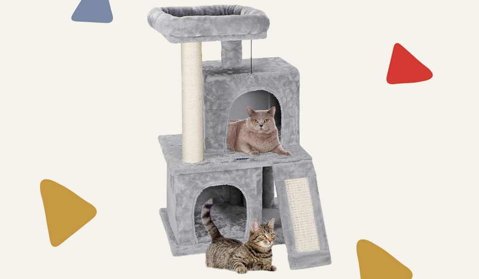 Perfect for multiple cats. (Photo: Walmart)