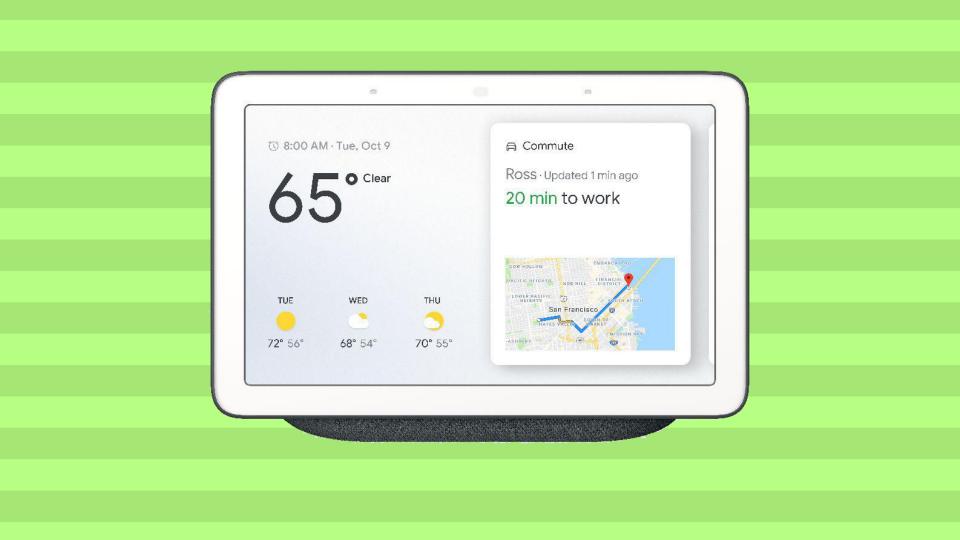 Save $41 on the Google Nest Hub. (Photo: Walmart)