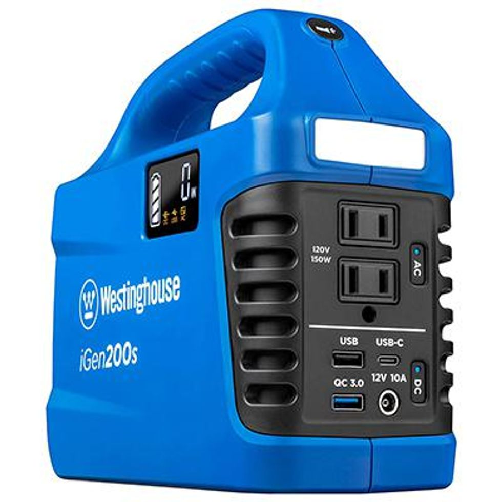 Westinghouse Outdoor Power Equipment iGen200s Portable Power Station and Outdoor Generator