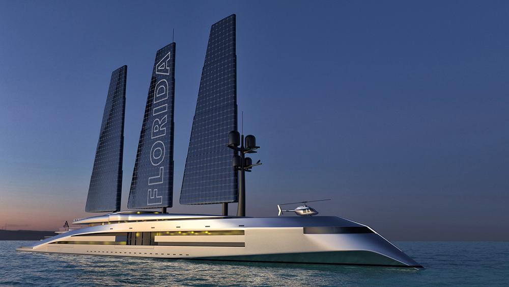 Florida Sailing Superyacht