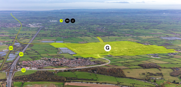 """The 635 acre Gravity site in Somerset which was """"trying to secure"""" a deal to be the location of a new Tesla factory, according to reports"""
