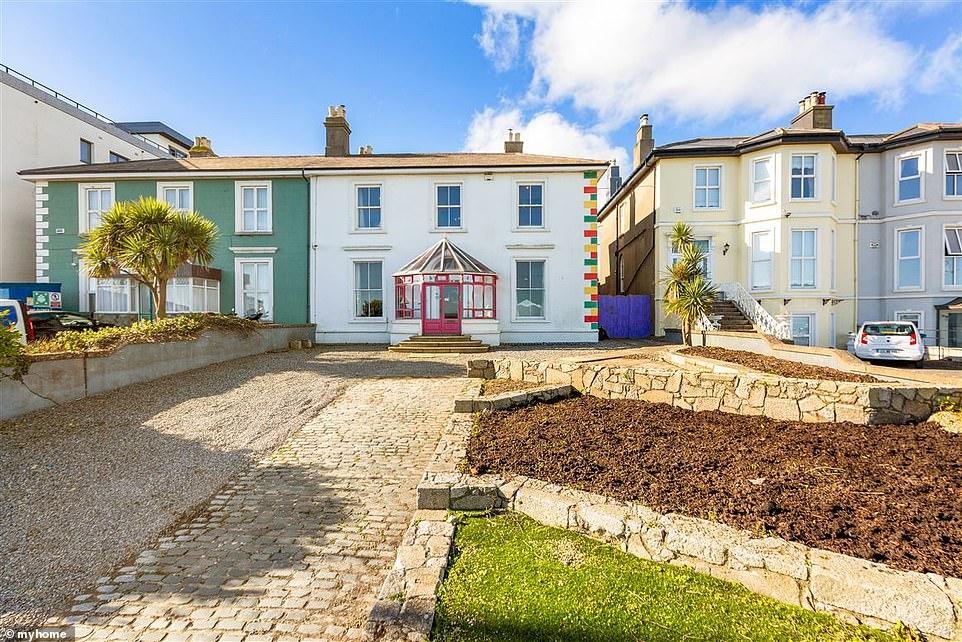 Lavish:u00A0Sinu00E9ad O'Connor has put her multicoloured house in Ireland back on the market foru00A0u00A3683,000 (u20AC950,000), after failing to sell the property in 2017