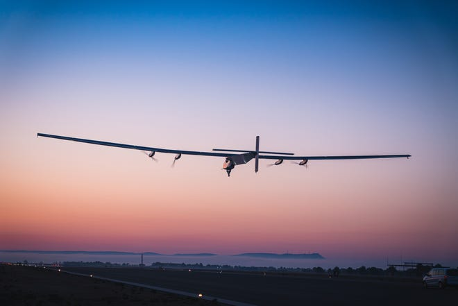 The repurposed Solar Impulse 2 aircraft is being used by Skydweller Aero to test solar-powered autonomous flight. The Oklahoma City-based company recently conducted its first flight test in Spain.