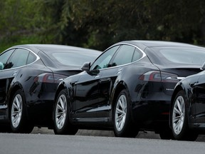 Tesla's Model 3 is the most common electric vehicle claimed by owners for a B.C. government rebate.