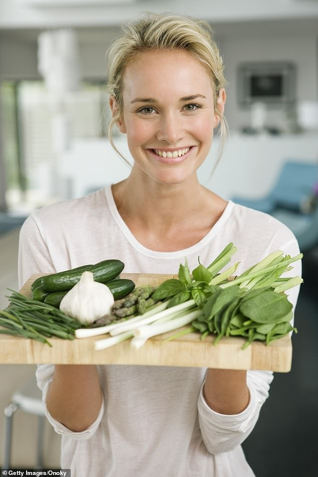 Leading dermatologist Karen Fischer, 47, has revealed her top secrets to skin beauty, including the foods to eat to make sure your skin stays glowing (stock image)