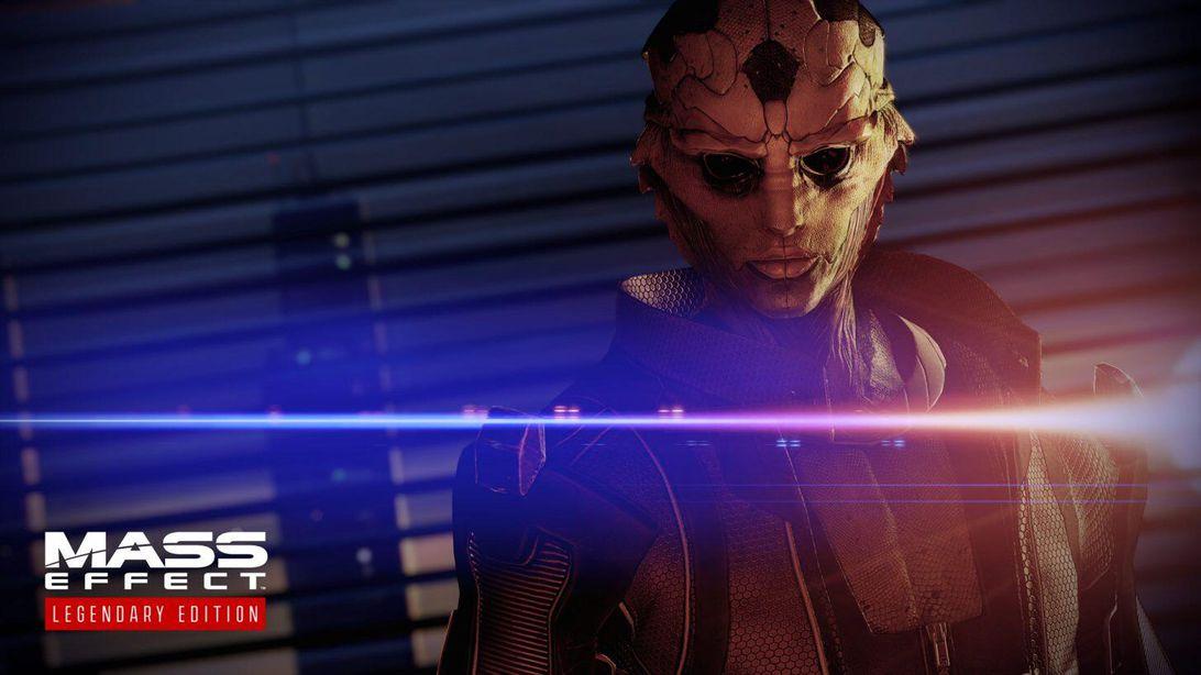 Thane in Mass Effect: Legendary Edition