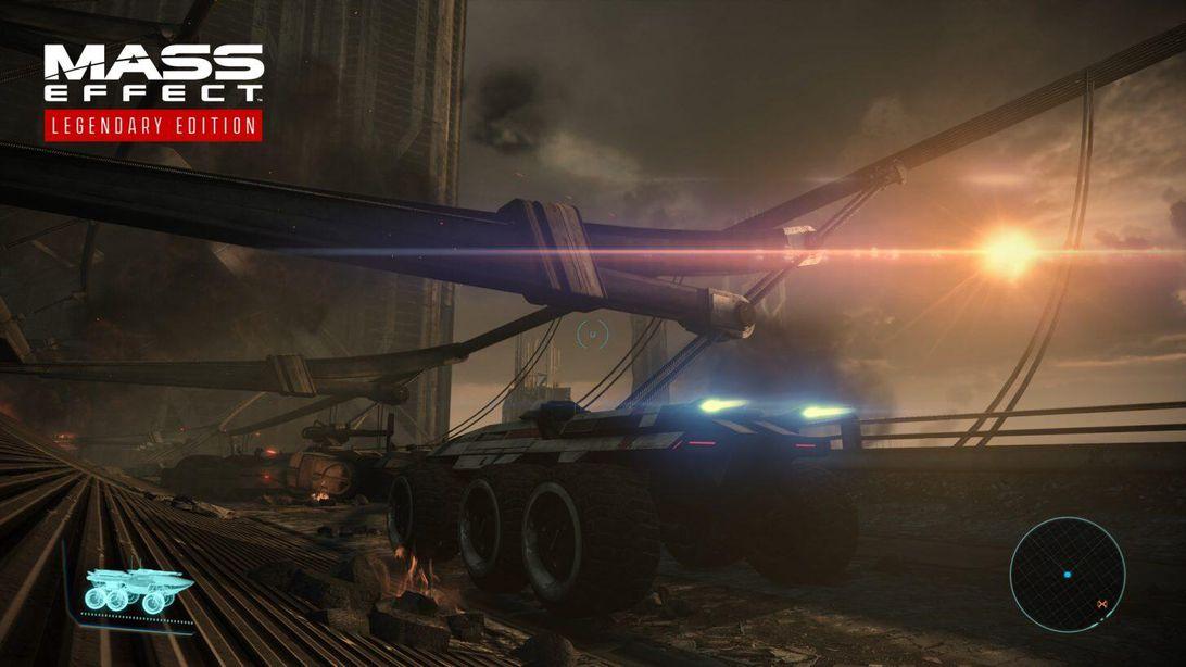 Mako in Mass Effect: Legendary Edition