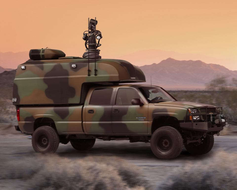GM Reveals New Hybrid Powered Truck For The U.S. Army