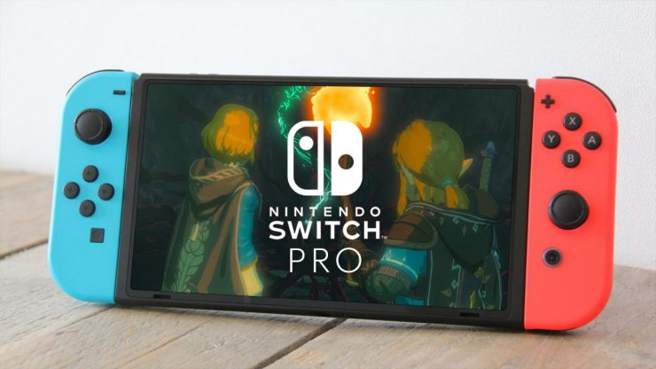 new nintendo switch pro model