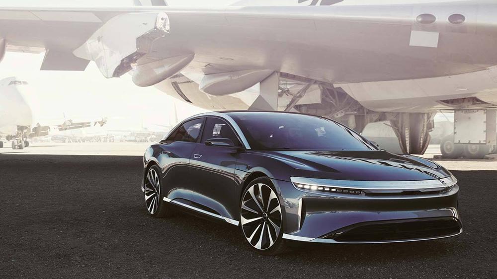 Lucid Air electric sedan