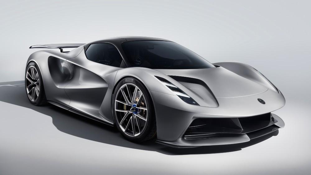The Lotus Evija electric hypercar