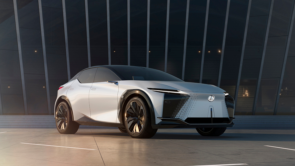 2021 Lexus LF-Z Electrified concept vehicle