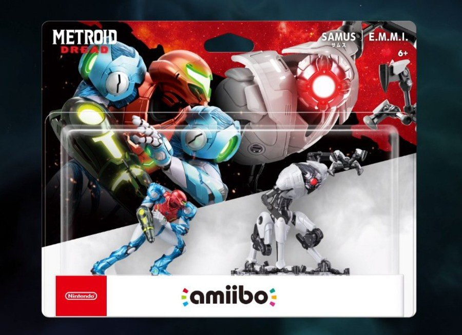 Metroid Dread amiibo 2 Pack