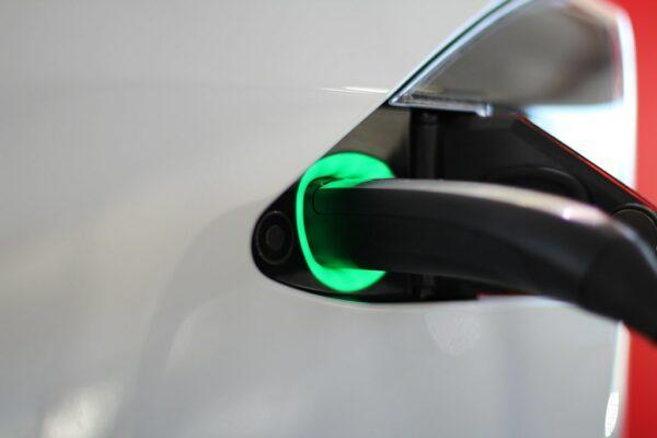 A plug into the side of a vehicle