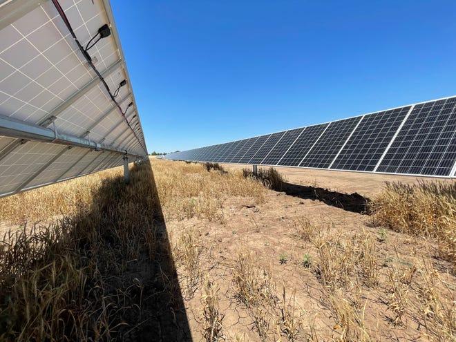 Each farm has an AC capacity of one megawatt.