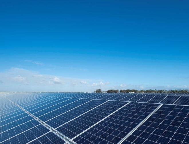 Holland and Zeeland's public electric utilities are buying into two large-scale solar projects in Michigan in Hart and Calhoun County.