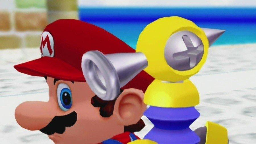 Mario Sunshine FLUDD