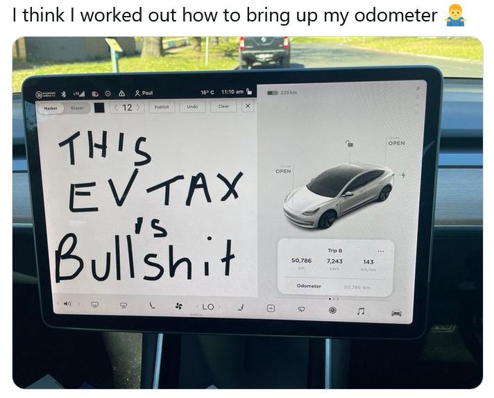ev tax