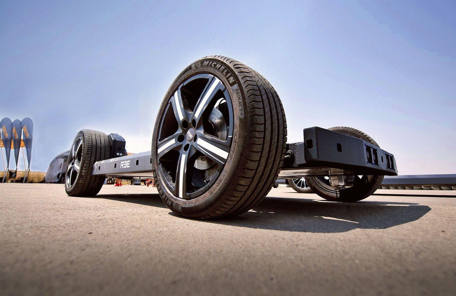 electric vehicle Texas REE Automotive