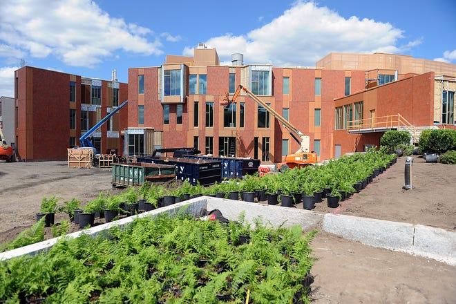 The new Fuller Middle School, June 16, 2021.