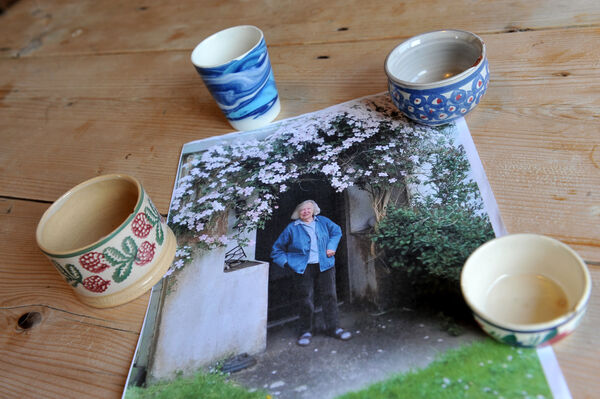 Elizabeth Neave (RIP) who worked as a potter at Shangarry.