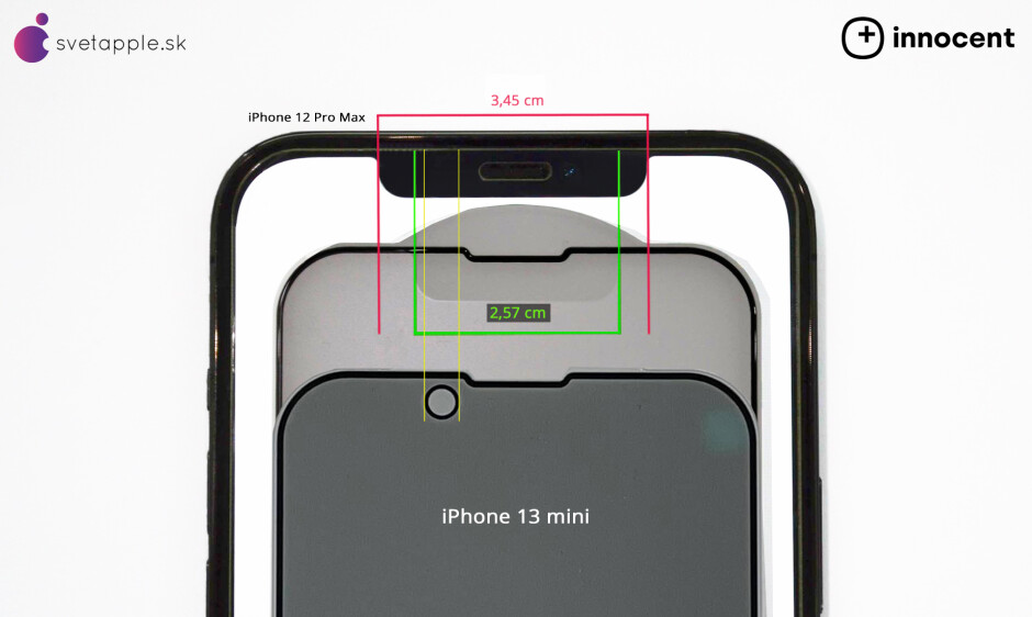 The notch could be reduced in width by 25% - Pictures of alleged 5G iPhone 13 Pro case reveal larger camera module, thicker body and more