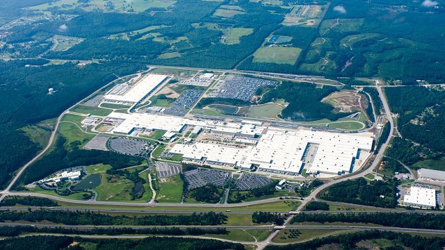 Mercedes-Benz U.S. International in Tuscaloosa County. (MBUSI)