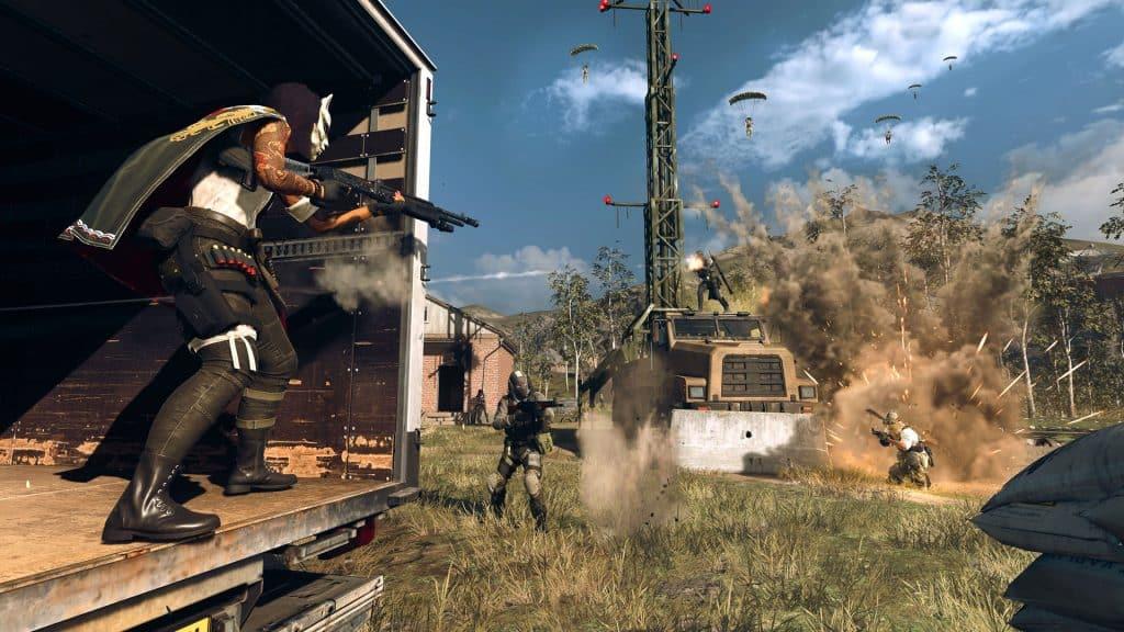 Warzone Season 5 gameplay