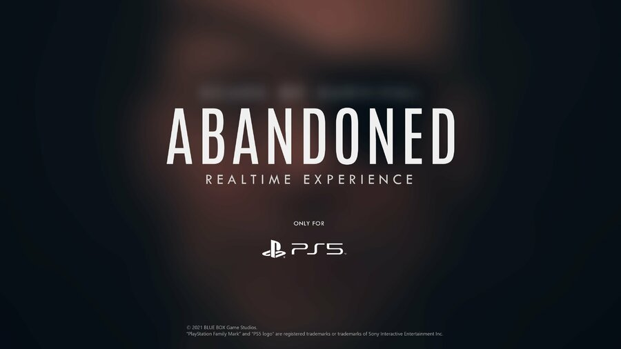Abandoned PS5 PlayStation 5 1